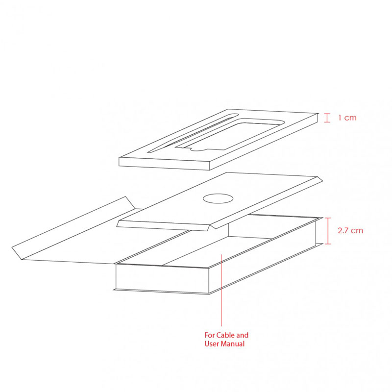 Magnetic Box Gift Set (Powerbank 4000mAh, Pen)