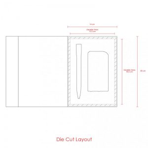 Magnetic Box Gift Set (Powerbank 6000mAh, Pen)