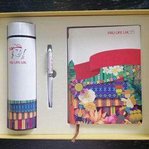Gift Set (Notebook, Tumbler, Pen)